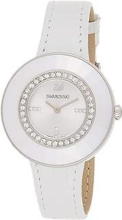 Swarovski Octea Dressy Women's Silver Dial Leather Band Watch - 5080504