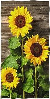 Best sunflower bathroom towels Reviews