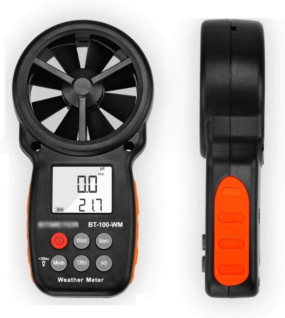 WSH Digital Wind Speed Meter Gauge Ranking TOP15 Velocity Air Max 71% OFF Flow Measurement