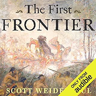 The First Frontier audiobook cover art