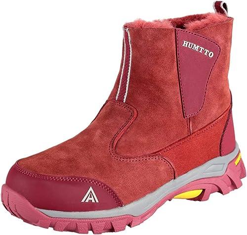 Sunjcs - botas de Nieve de Otra Piel Adultos Unisex