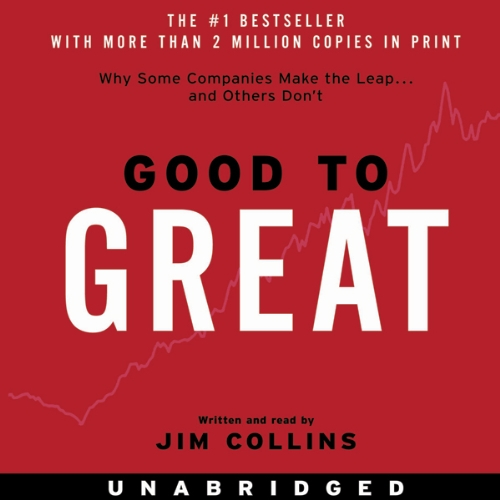 Good to Great Audiobook By Jim Collins cover art