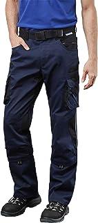 Pionier® workwear Pantalon de travail | indéchirable résistant aux UV | Pantalon cargo avec poche pour téléphone portable,...