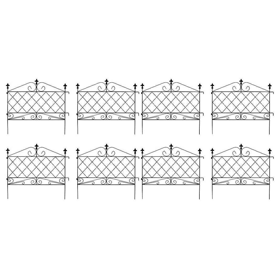スキップウガンダフォームアプローチローフェンス 8枚組 ブラック AF008-8P-BLK(SST)