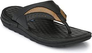 Levanse Leather Formal Flip Flop Slippers for Men/Boys