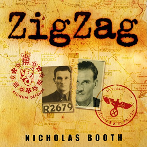 Zigzag audiobook cover art