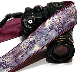 Dream Catcher Camera Strap. Purple Camera Strap. Photo gear. Camera Accessories. SLR, DSLR Camera Strap. Gift For Photogra...