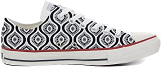 8e1730576798 Converse Women s All Star (shoes customized) hand printed Italian style  Wave Paisley size 41