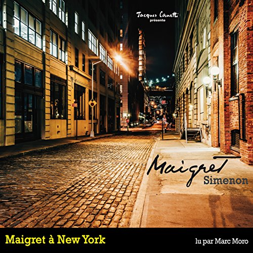 Maigret à New York (Commissaire Maigret) audiobook cover art