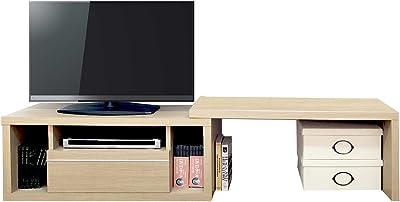 大谷工業 デルネ エクステンションTVボード 【幅90×高さ45cm】 ナチュラル DEX-90-N