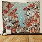 SARA NELL Tapestry Hippie Art Tapestries Wall Hanging...