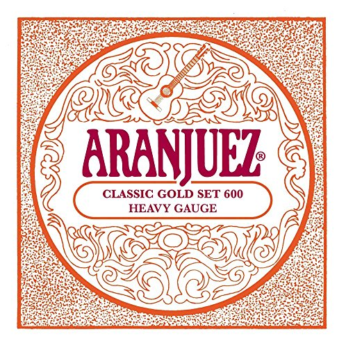 Aranjuez A600Classic Gold Saiten Nylon klassische Gitarre