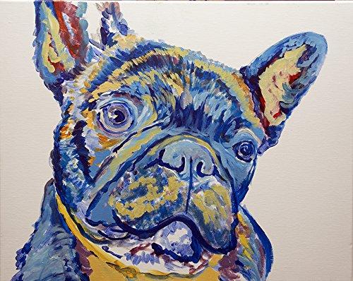 French bulldog painting original artwork