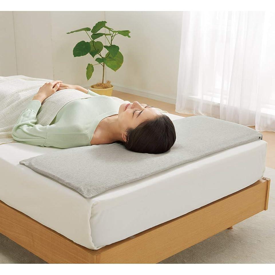 従順ミリメーターグレートバリアリーフ高さ1.5cm(低いにもほどがある超薄型V-Lap(R)枕(カバー付き)) 654608(サイズはありません イ:グレー)
