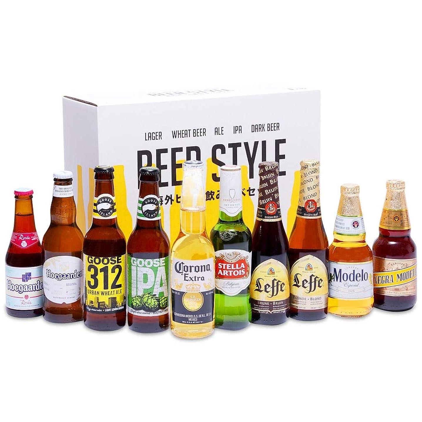 選択世代中で[Web限定]輸入ビールスタイル別飲み比べ10本パック [ アメリカ 3345ml ] [ギフトBox入り]