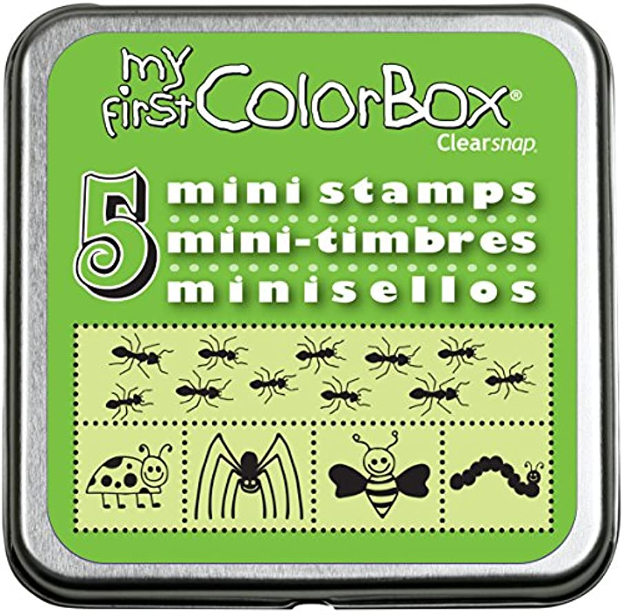 CLEARSNAP My First Colorbox Mini Stamp Set, Bugs