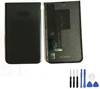 غطاء بطارية خلفي لهاتف Samsung Galaxy J7 2017 J727 - غطاء خلفي أسود مع إطار + أدوات لجهاز Galaxy J7 2017 SM-J727 J727R4 J7...