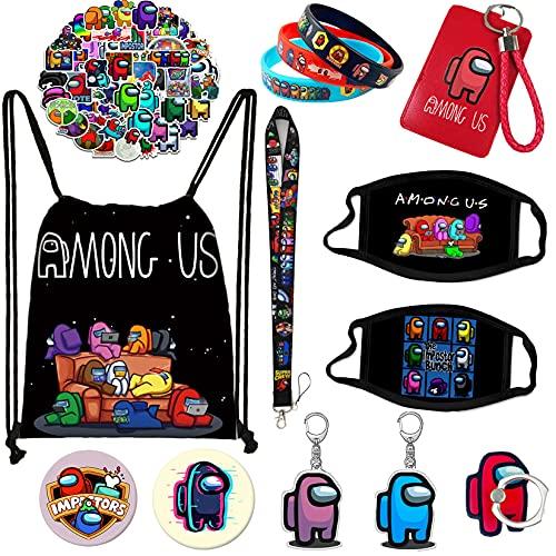 Among in Us Gift Sets Drawstring Bag 13 pcs