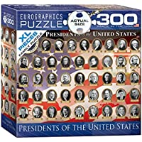 EuroGraphics 300-Pieces US Presidents Jigsaw Puzzle