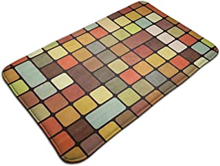 Rubiks Cube 19.5''X 31.5'' Inch Decorative Doormat Non-Slip Bath Mat,Indoor/Outdoor Carpets Entry Rugs - for Kitchen Playroom Bedroom Garden Toilet