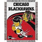 NHL Chicago Blackhawks Woven Jacquard Baby Throw Blanket