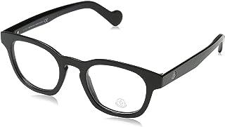 Moncler Oval Eyeglasses ML5017 001 Shiny Black 48mm 5017