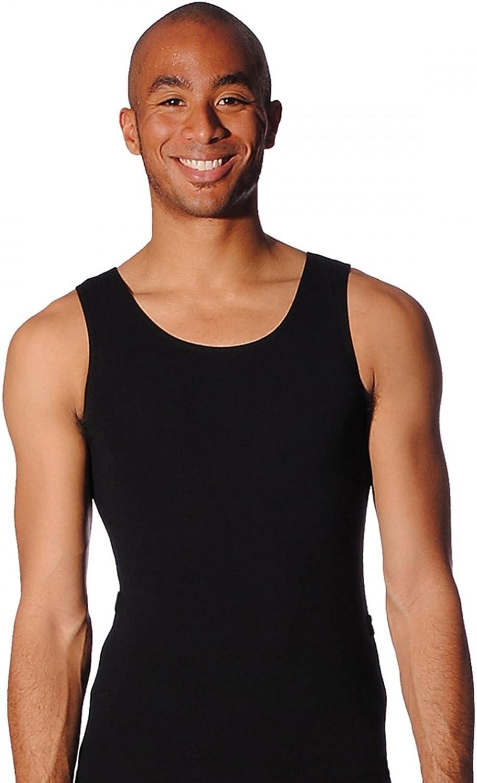 /Negro Blanco o Azul Oscuro /Maillot de Ballet sin Mangas algod/ón//Lycra/ Roch Valley Boys/