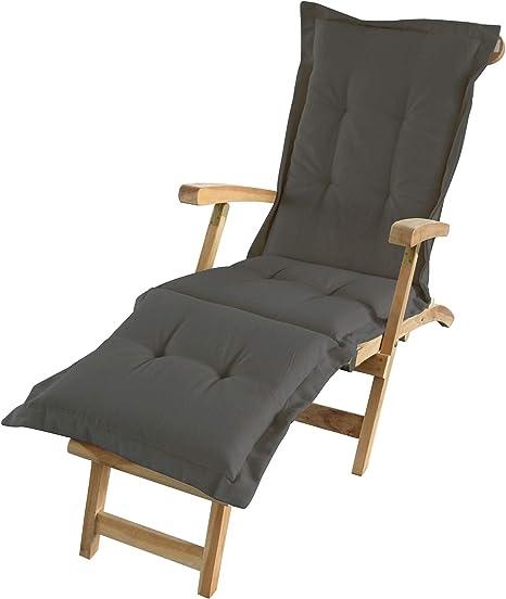 Deckchair Auflage Polster Liegestuhl Liegenauflage Sonnenliege Auflagen Kissen