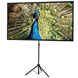 Best Portable Projection Screens - celexon 80inch Projector-Screen with Stand, Indoor Outdoor Portable Review