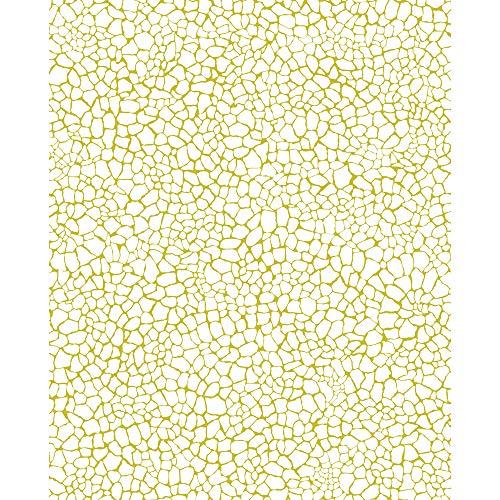Décopatch Papier No. 540 Packung mit 20 Blätter (395 x 298 mm, ideal für Ihre Papmachés) gelb, girafemuster