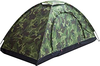 Sutekus Tent Camouflage Patterns Camping Tent Tent for Camping Hiking 【Outdoor Equipment】