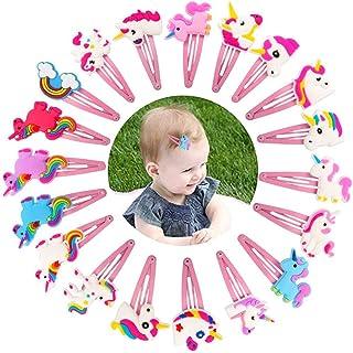Decorazioni a Parete Camera Bambini Hifot Ragazza Unicorno Mollette per Capelli Organizzatore Unicorn Fermagli Capelli Accessori Immagazzinaggio