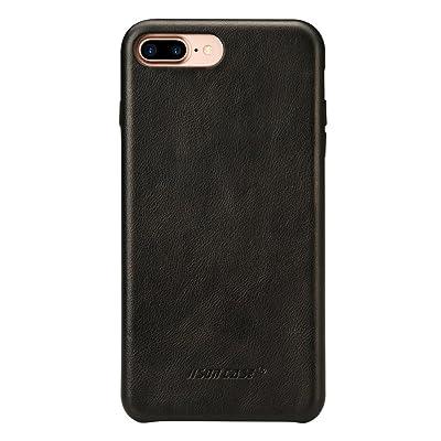 iPhone 7 Plus Case, iPhone 8 Plus Leather Case