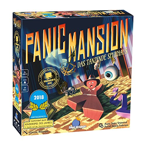 Asmodee Blue Orange BLO0007 - Panic Mansion, behendigheidsspel, Duits