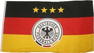 Germany 4 Stars, Deutscher Fussball-Bund Logo FIFA Soccer World Cup 3 x