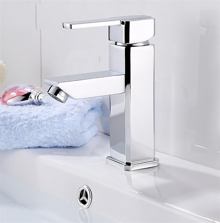 SLT Modern Bathroom Faucet Single Handle Lead Polished Chrome