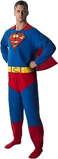 Rubie's Official Superman Onesie, Adult Costume - Large