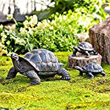 SET OF 3 - This is a set of 3 and comes with a mother and two babies INDOOR/OUTDOOR - Can be used indoor our outdoor as the material is weather resistant CAST RESIN - Made of cast resin these statues feature great detail and are sure to be long lasti...