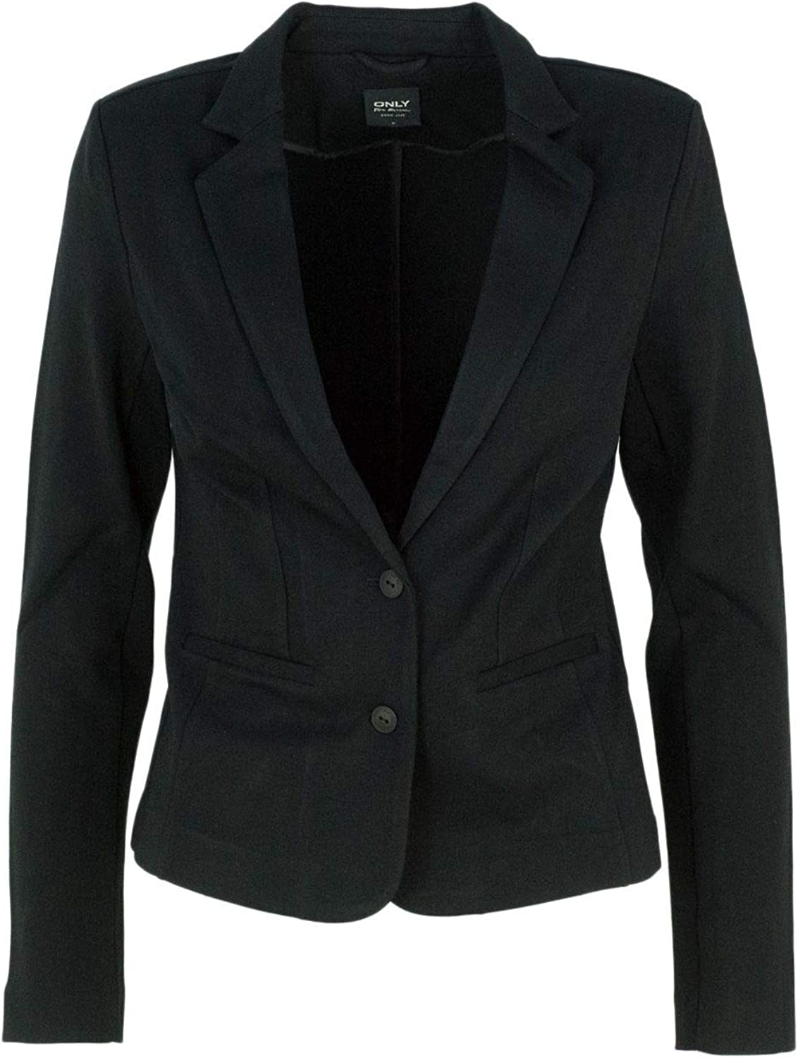 Only Women's 15153144BLACK Black Viscose Blazer