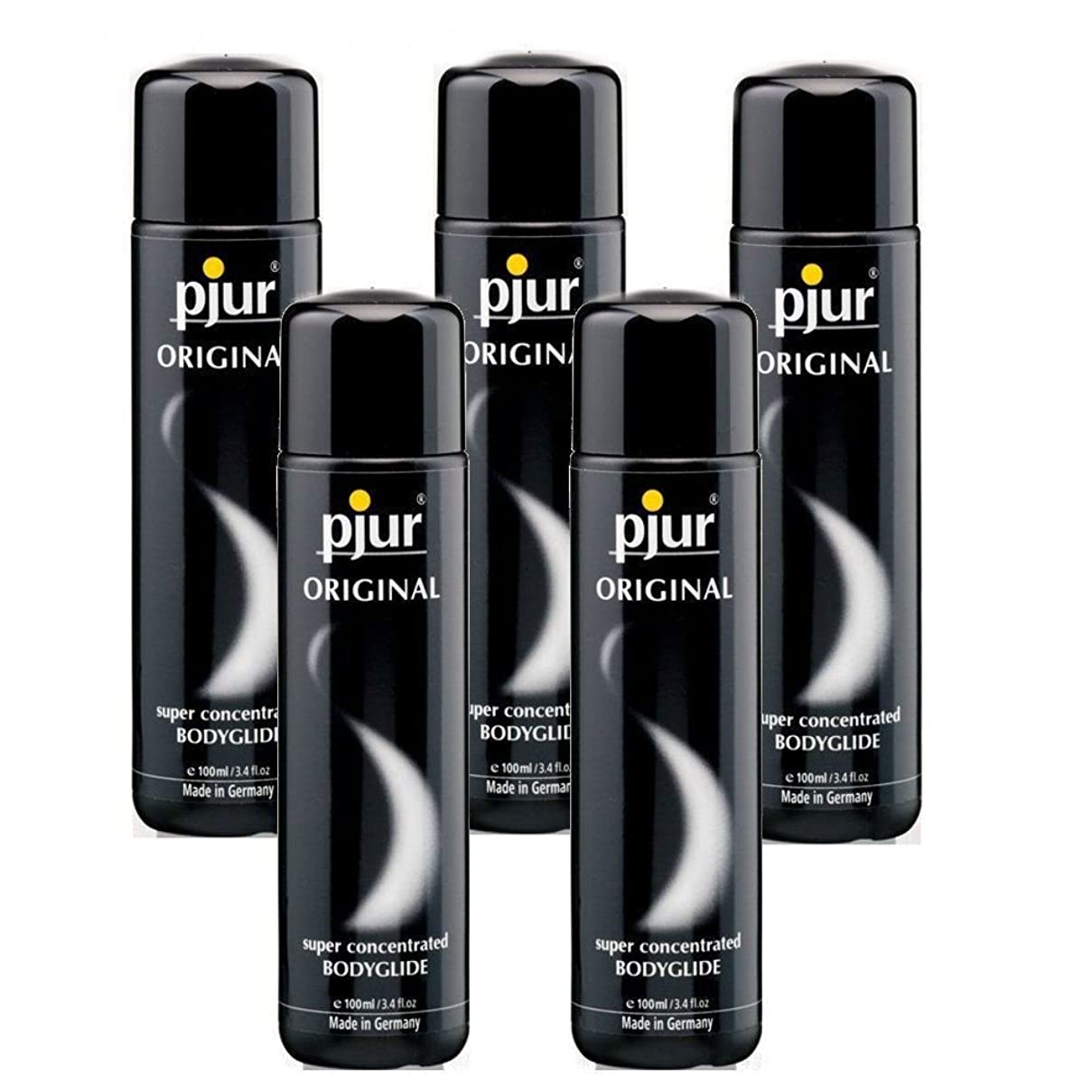 どう?称賛小屋Pjur 5 Pack Bodyglide Lubricant - 100ml
