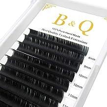 Extensión de pestañas Espesor 0.03mm D Curl 8-15mm Bandeja