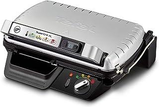 Tefal SuperGrill XL GC461B Barbecue électrique de table Noir Métallique 2400 W - Barbecue (2400 W, Grill, Electrique, 285 ...