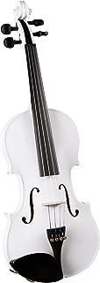 Cremona SV-75 Premier Novice Violin Outfit - Sparkling White - 1/4 Size