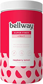 Bellway Sugar-Free Psyllium Husk Fiber Supplement, Raspberry Lemon, 13.8 oz.