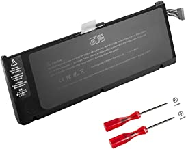 GWY-TECH New Laptop battery for Apple Macbook Pro 17 inch A1309 A1297 [Early/Mid 2009,Mid 2010 Version] MC226/A MC226CH/A MC226J/A MC226LL/A MC226TA/A MC226ZP/A 020-6313-C 661-5037-A [7.2V 95Wh]