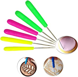 Gooday 6 PCS Scriber Needle Modelling Tool Marking Patterns Icing Sugarcraft Cake Decorating