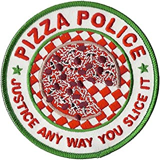 pizza police patch