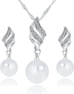 9-10 mm d/'eau douce Perles Blanches Plaqué or élégant Stud Jewerly Boucles d/'oreilles