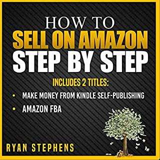How to Sell on Amazon Step by Step, 2 Titles audiobook cover art