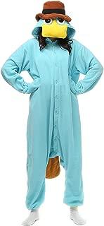 perry the platypus onesie pajamas